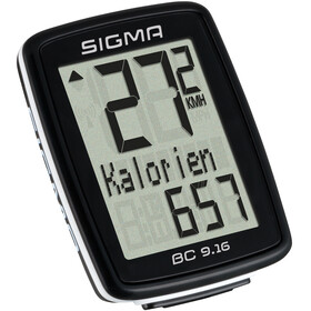 SIGMA SPORT BC 9.16 Bike Computer kabeldreven